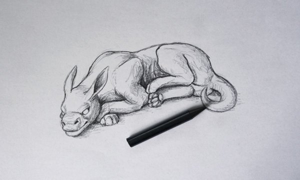 traditional art drawing