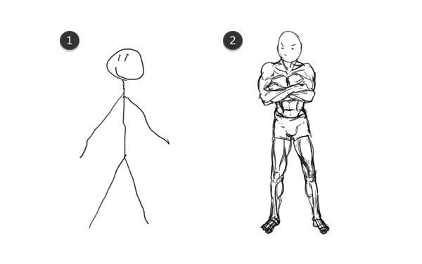 i cant draw a stick man digital