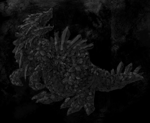 concept art monster textures 3