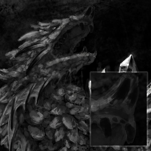 concept art monster painting crystal digital 10