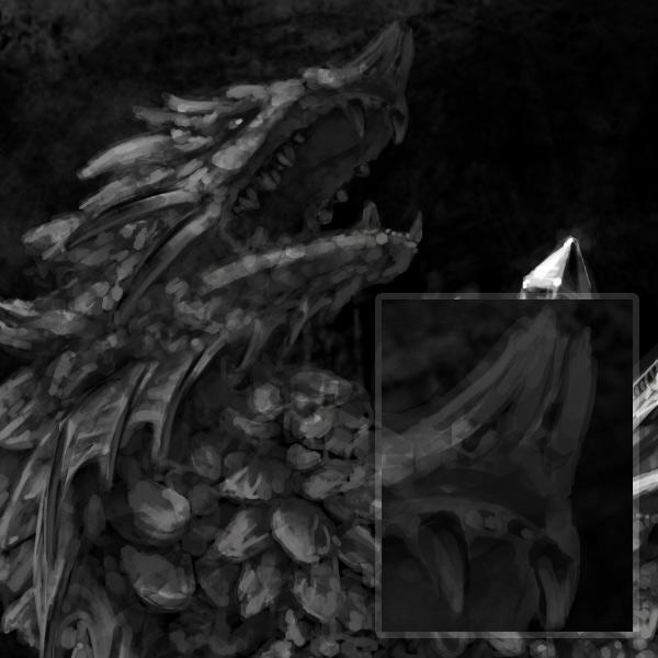concept art monster painting crystal digital 11
