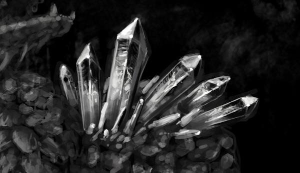 concept art monster painting crystal digital 8
