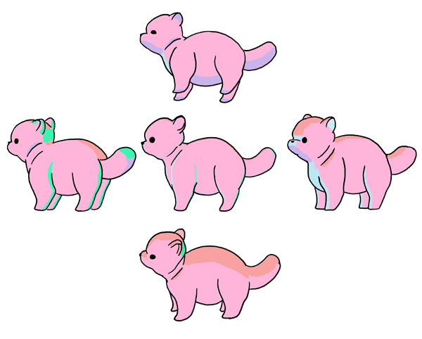 perspective animals how to draw life