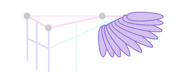 animation animal griffin flight flying wings draw feathers 2