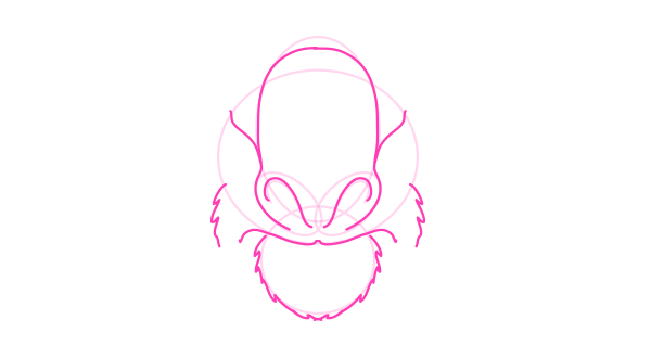 koala how to draw nose mouth 4