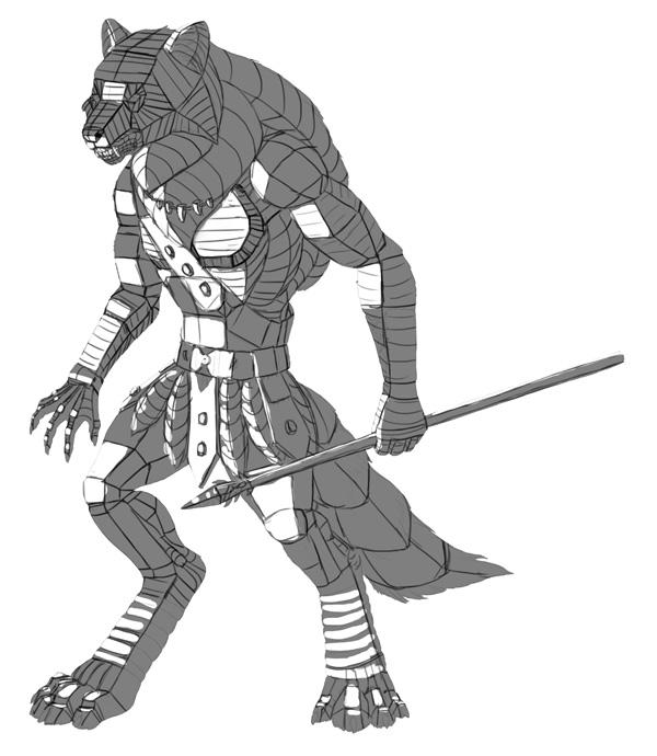 character design concept 3d form 2