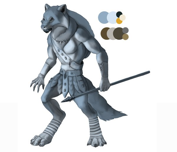 character design concept color photoshop painting 2
