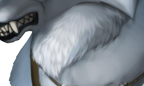 character design concept photoshop painting fur 4
