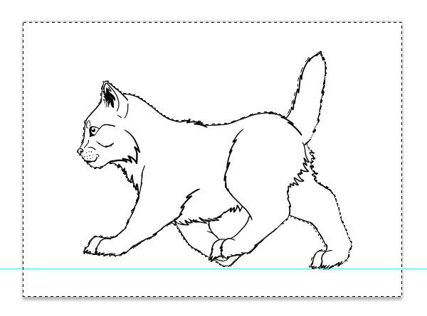 photoshop how to draw line art animation 34