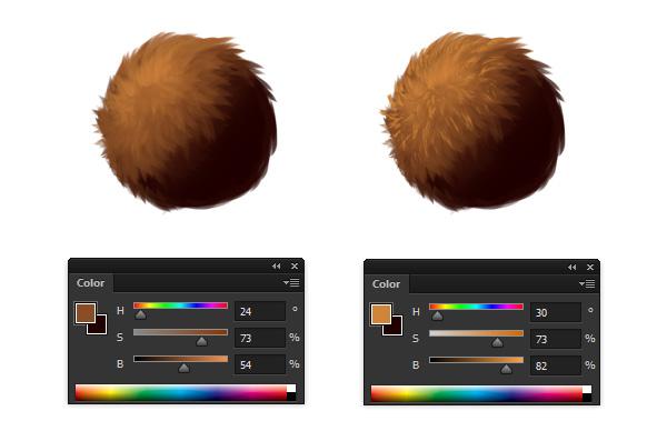 fur detail reference