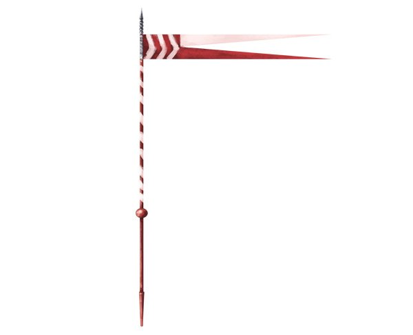 how to draw polish winged hussar lance
