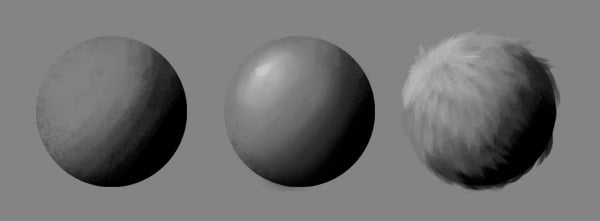 how to sculpt 2d shading lighting photoshop 5