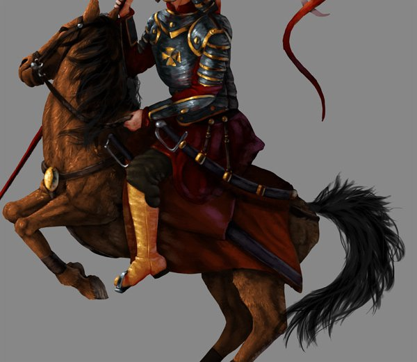 how to paint horse mane tail photoshop 2