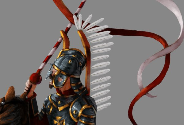 how to paint draw feathers photoshop wing hussar 4