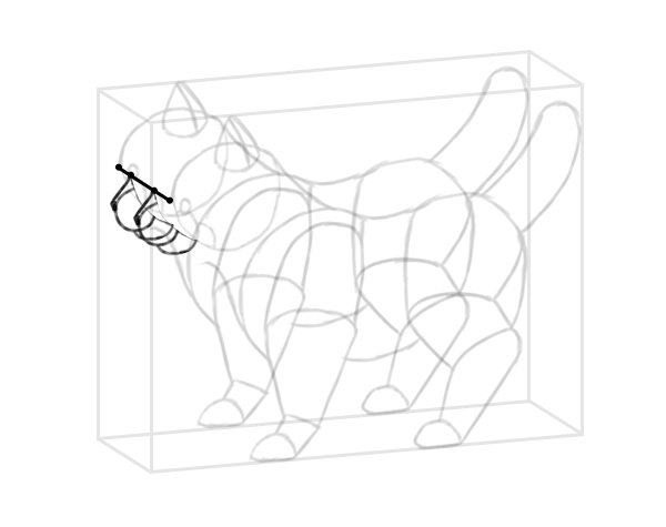 photoshop perspective simple drawing box 10