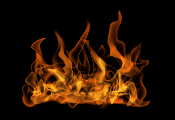How to paint fire photoshop digital 17