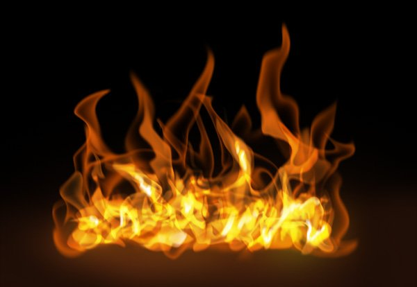 How to paint fire photoshop digital 23