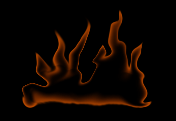 How to paint fire photoshop digital 5
