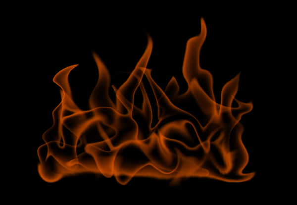 How to paint fire photoshop digital 8