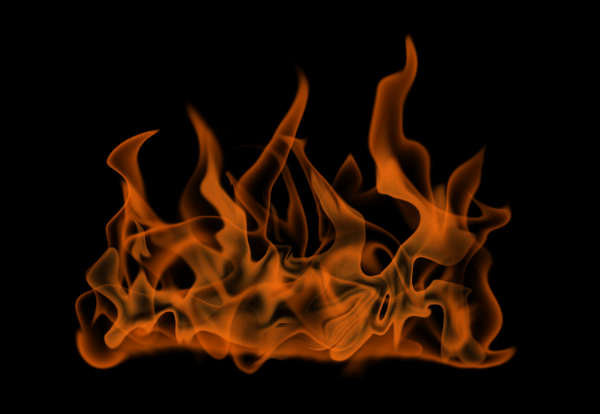 How to paint fire photoshop digital 11