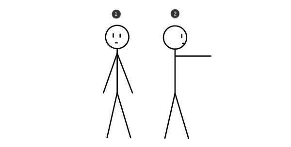 how to draw stick figure stickman tutorial steo by step 2