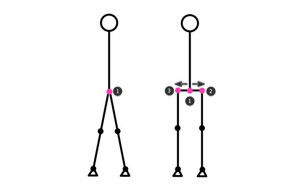 how to draw stick figure stickman tutorial legs feet 10