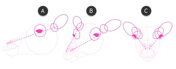 how to draw giraffe head 3