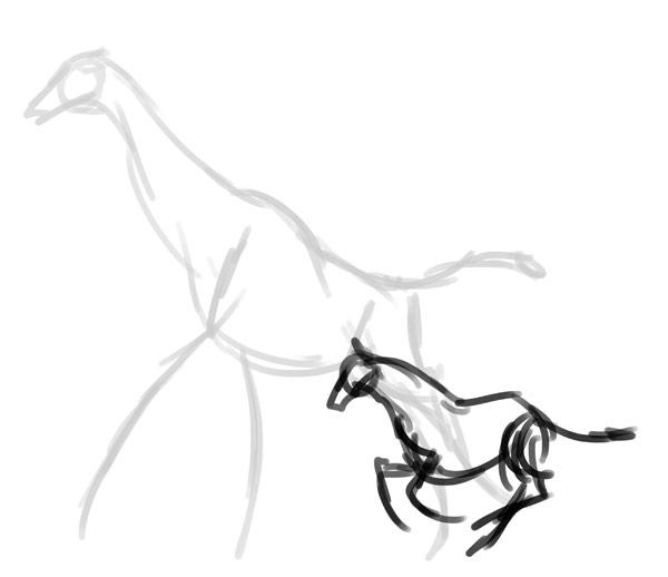 how to draw zebra giraffe 2