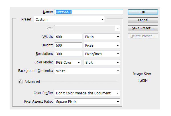 digital painting what resolution to use width height