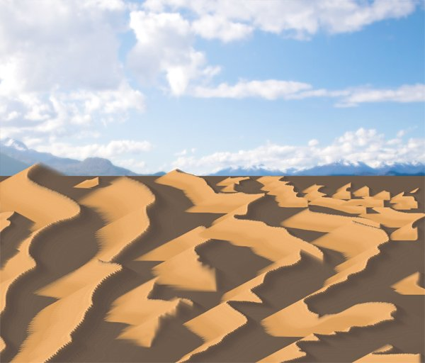 photoshop paint desert mixer brush dunes