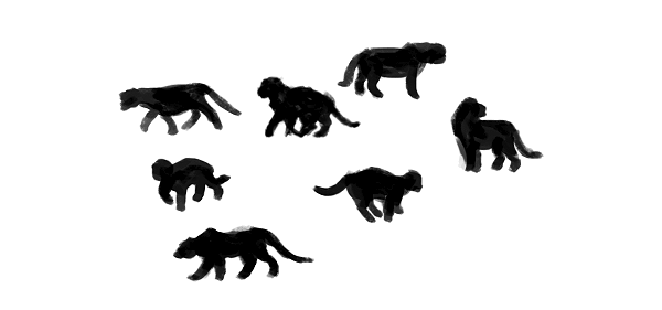 digital painting fur how to start animal
