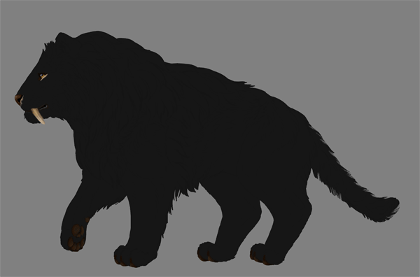 digital painting fur clipping mask color