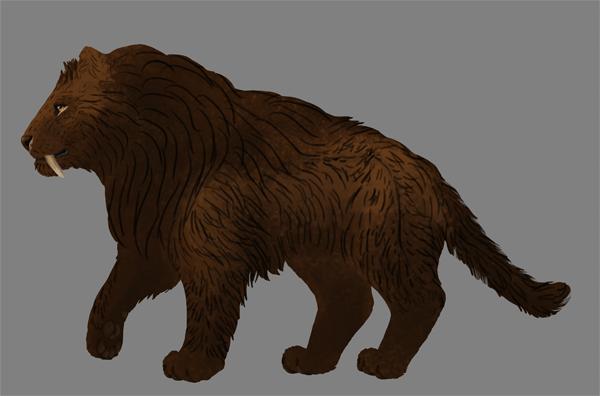 digital painting fur shadow multiply