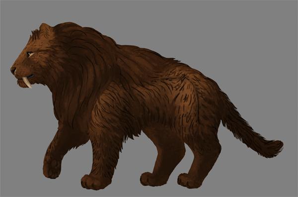 digital painting fur shading midtone