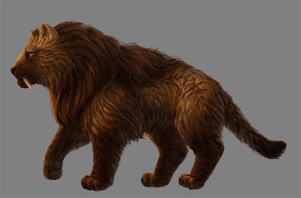 digital painting fur finish up