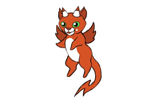 design draw mascot final version