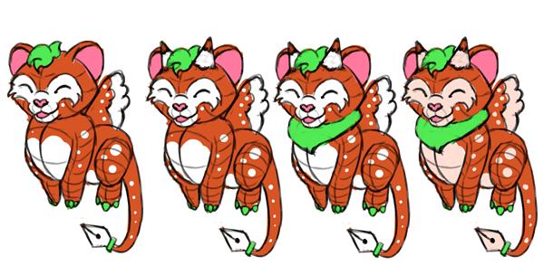 design draw mascot soft cute colorful