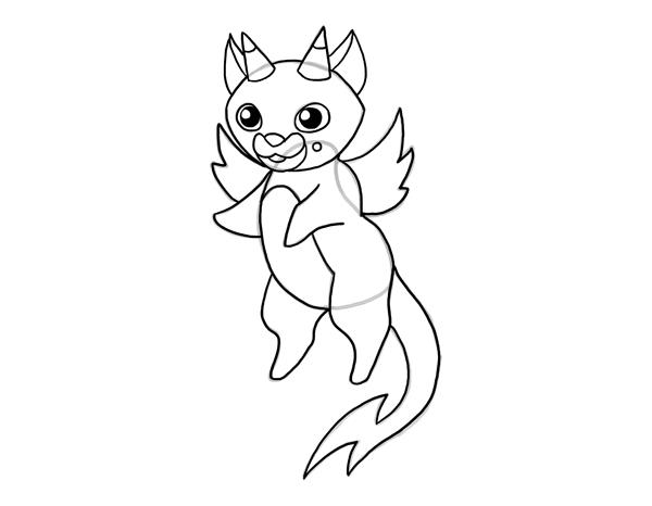 design draw mascot colors lines