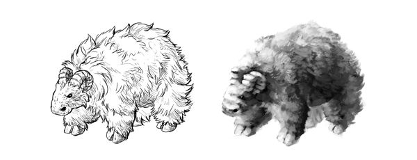 drawing painting comparison difference