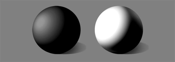 how to shade white over under exposure