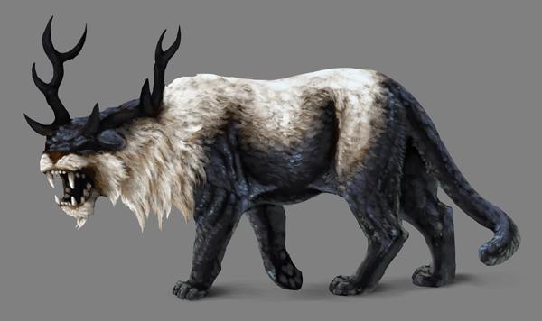 how to paint black white photoshop black fur ultra shiny