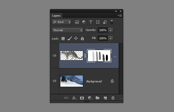 photoshop layer mask gray opacity