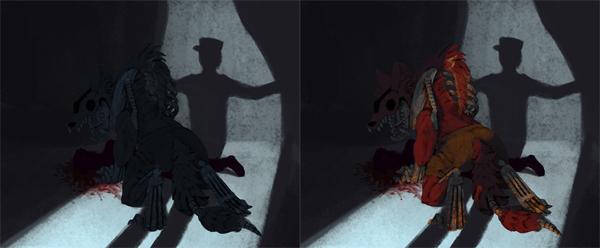 photoshop layer mask light shadow