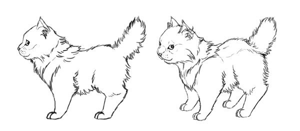 how to draw animals in perspective sides