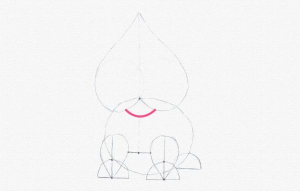 draw chin head