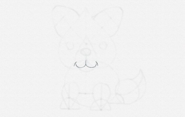 how to draw smile animal