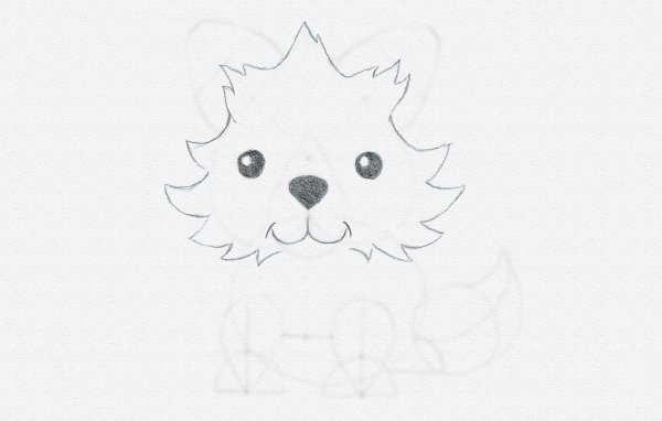 how to draw cartoon fur