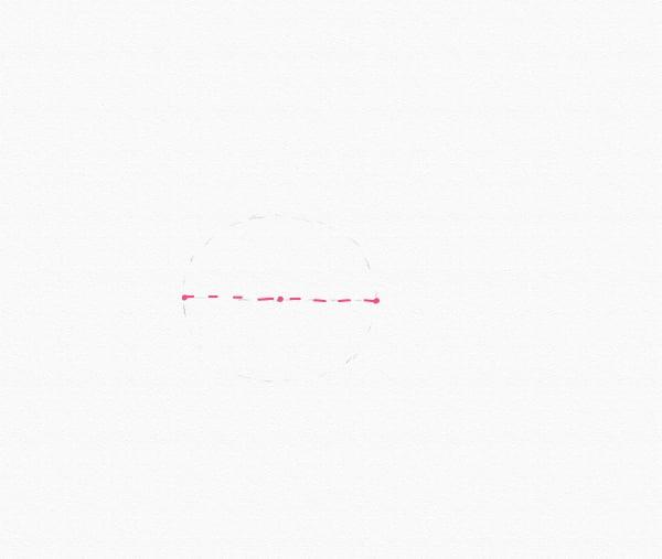 draw half oval