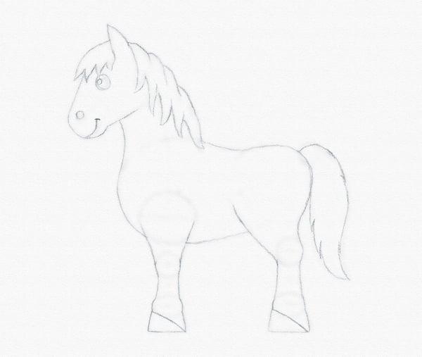 draw pony eyes