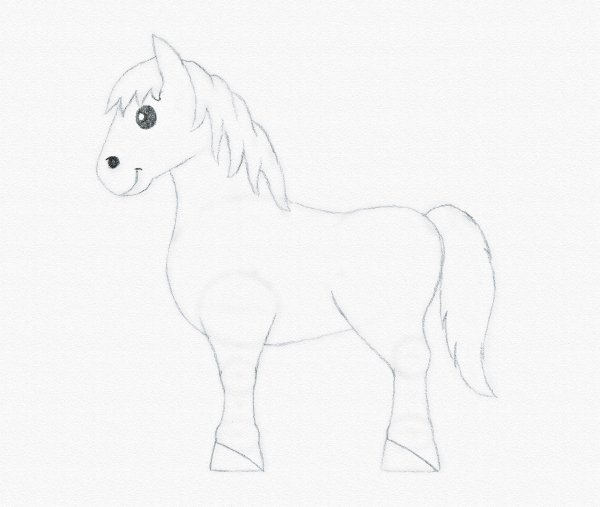 draw pony eyes complete